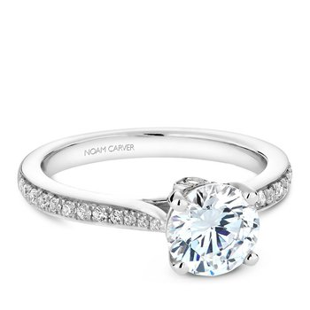 Noam Carver Vintage Engagement Ring B141-02A