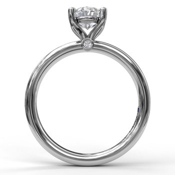 Classic Oval Cut Solitaire