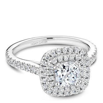 Noam Carver Fancy Engagement Ring R051-05A