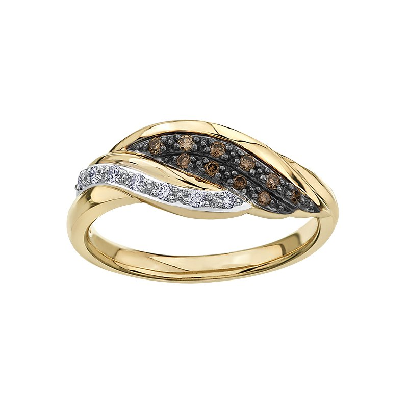 Diamond Days Nat Brown Diamond Ladies Ring