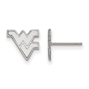 Gold West Virginia University NCAA Earrings
