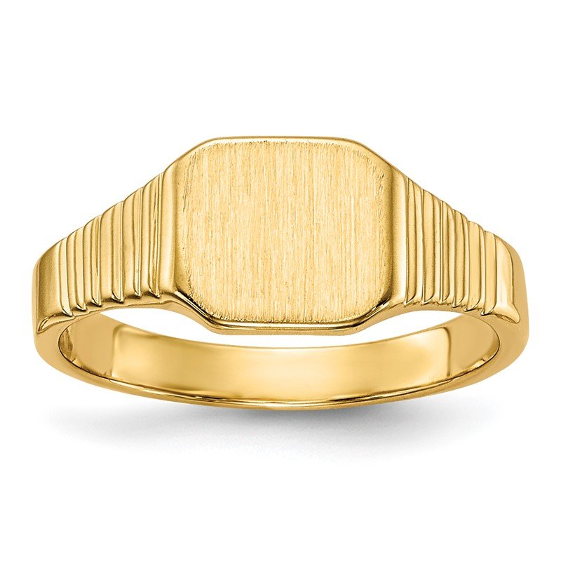 Quality Gold 14k Signet Ring