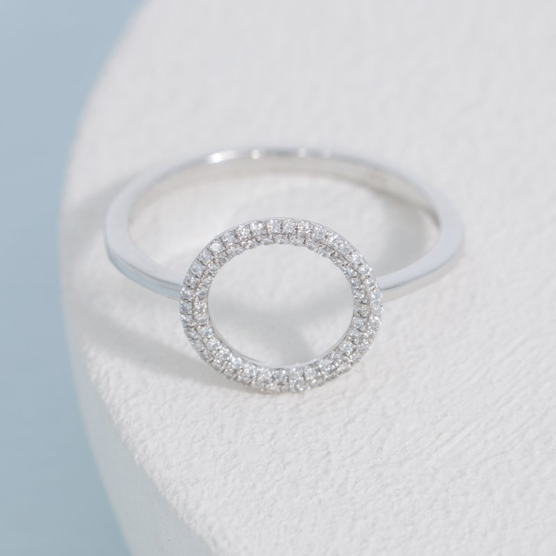 Ella Stein You Are My Everything Sterling Silver Ring