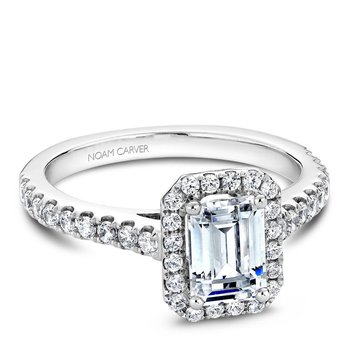 Noam Carver Fancy Engagement Ring B034-01A