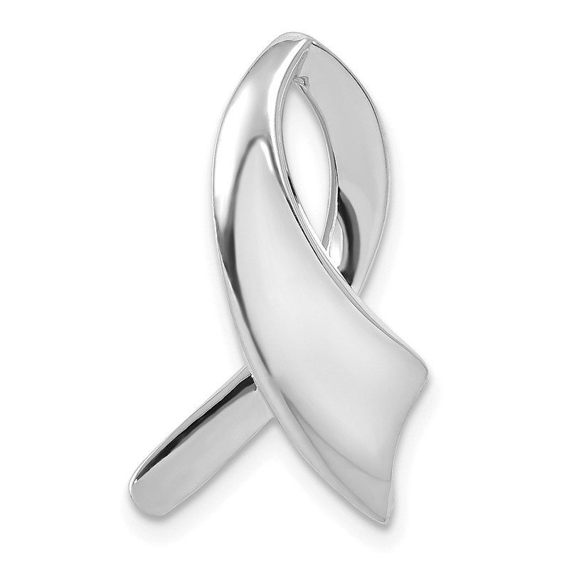 Quality Gold 14k White Gold Slide