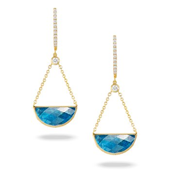 Laguna Drop Earrings 18KY