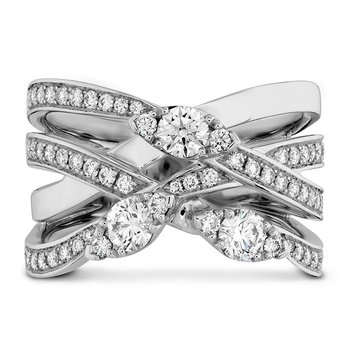 0.85 ctw. Aerial Diamond Right Hand Ring