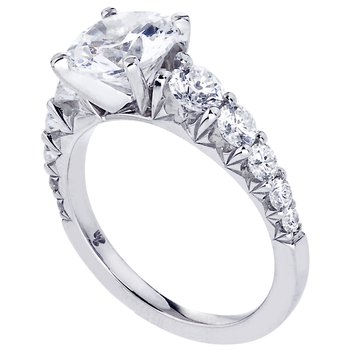 Royal Prong Diamond Engagement Ring