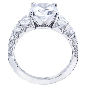 Mark Patterson Royal Prong Diamond Engagement Ring