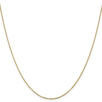 Leslie's 14K 1.1mm Flat Cable Chain