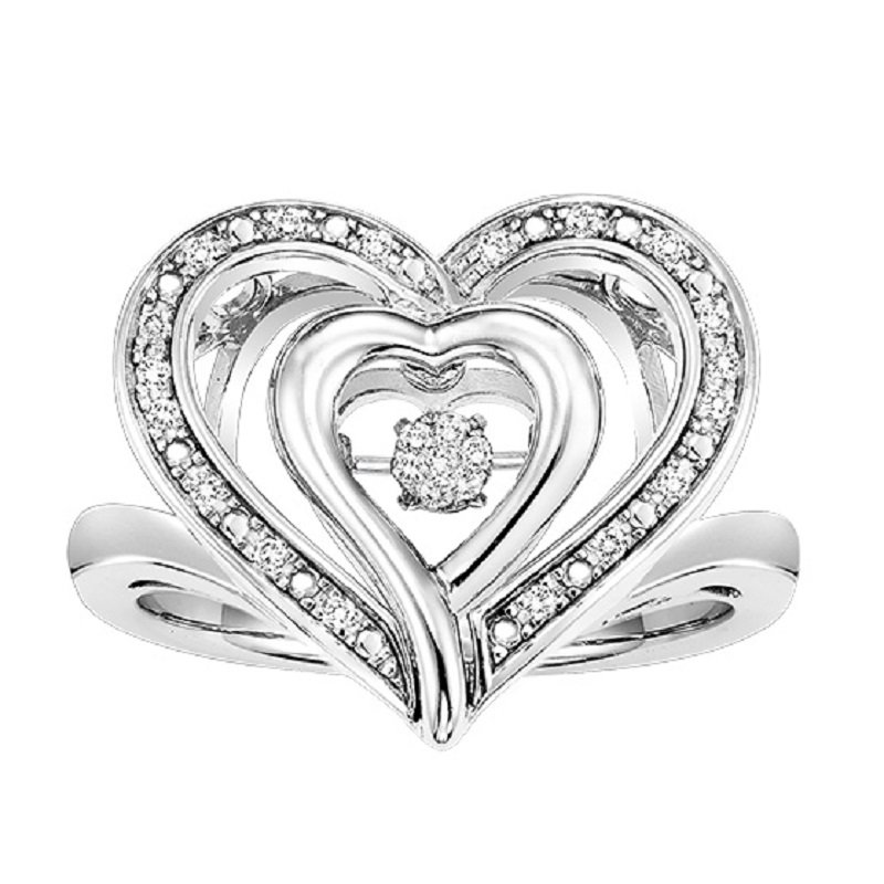 Rhythm of Love Silver Rhythm Of Love Ring