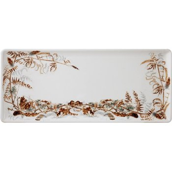 Oblong Serving Tray (Foliage)
