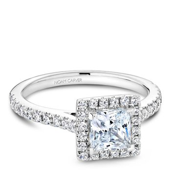 Noam Carver Fancy Engagement Ring R050-06A