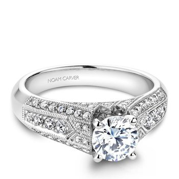 Noam Carver Vintage Engagement Ring B055-01A