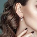 Gemstone Collection lovebright diamond earrings