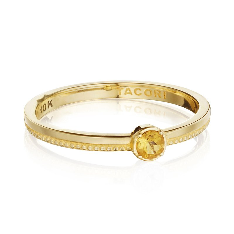Tacori Fashion Gemstone Band Ring w/ Citrine