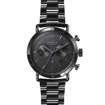 Watch: Canfield Sport 40mm, Black Bracelet