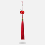 Swarovski Red Apple Ornament