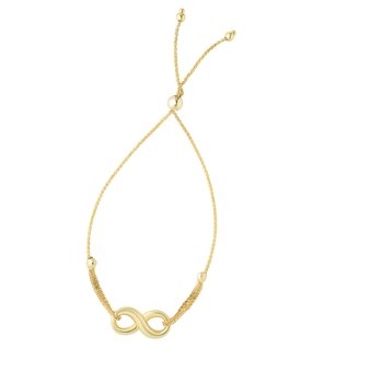 14K Gold Infinity Friendship Bracelet