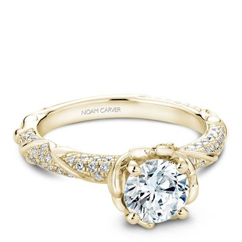 Noam Carver Vintage Engagement Ring B081-02YA