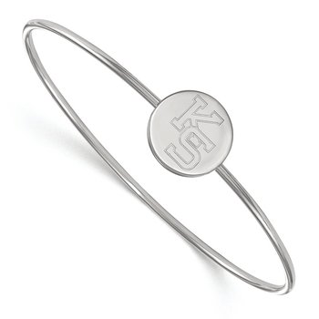 Sterling Silver Kansas State University NCAA Bracelet