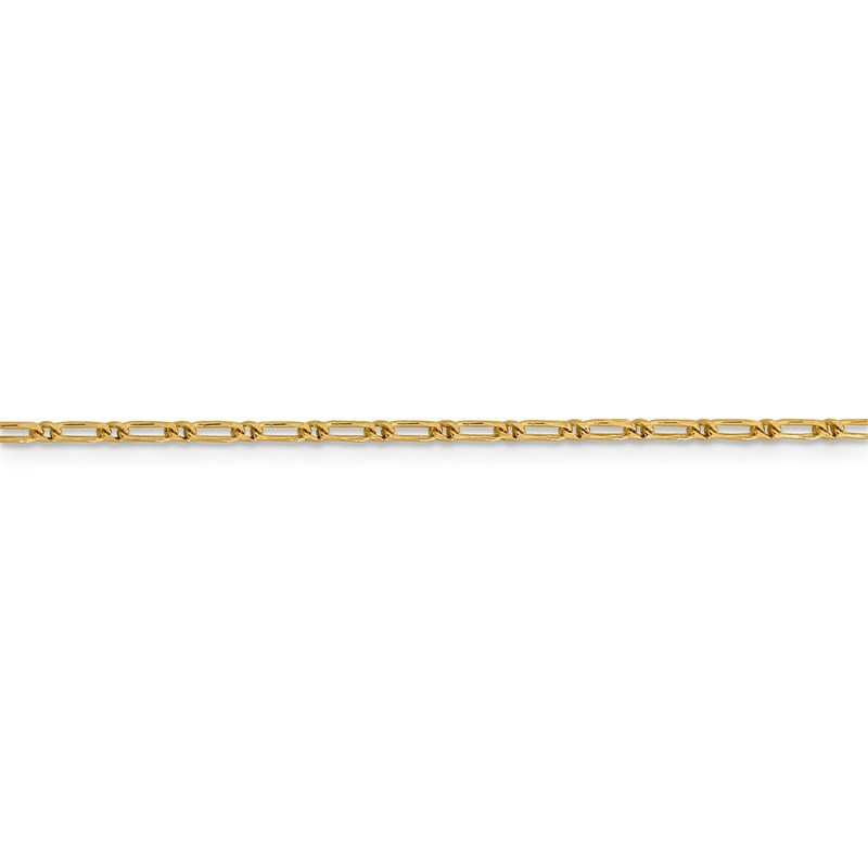 Leslie's Leslie's 14K 1.6 mm D/C Open Long Link Franco Chain