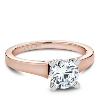 Noam Carver Modern Engagement Ring B006-03RWA