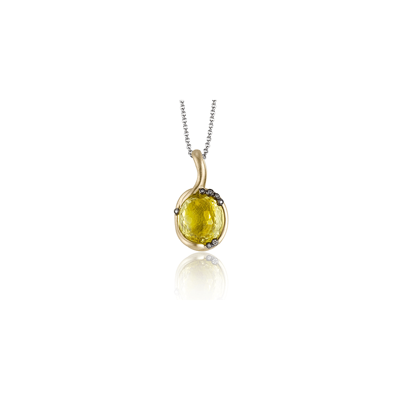 Zeghani ZP382 COLOR PENDANT