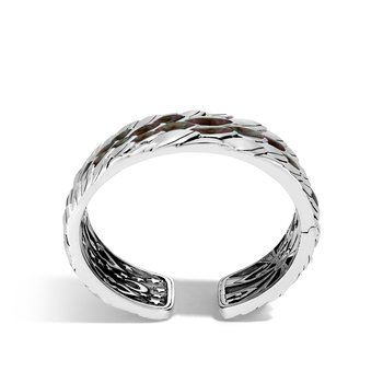 Legends Naga 40MM Kick Cuff in Silver with Gemstone