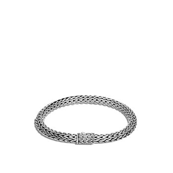 Tiga Classic Chain 6.5MM Bracelet in Silver