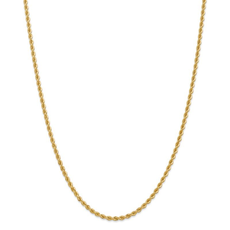 Quality Gold 14K 2.75mm Regular Rope Chain