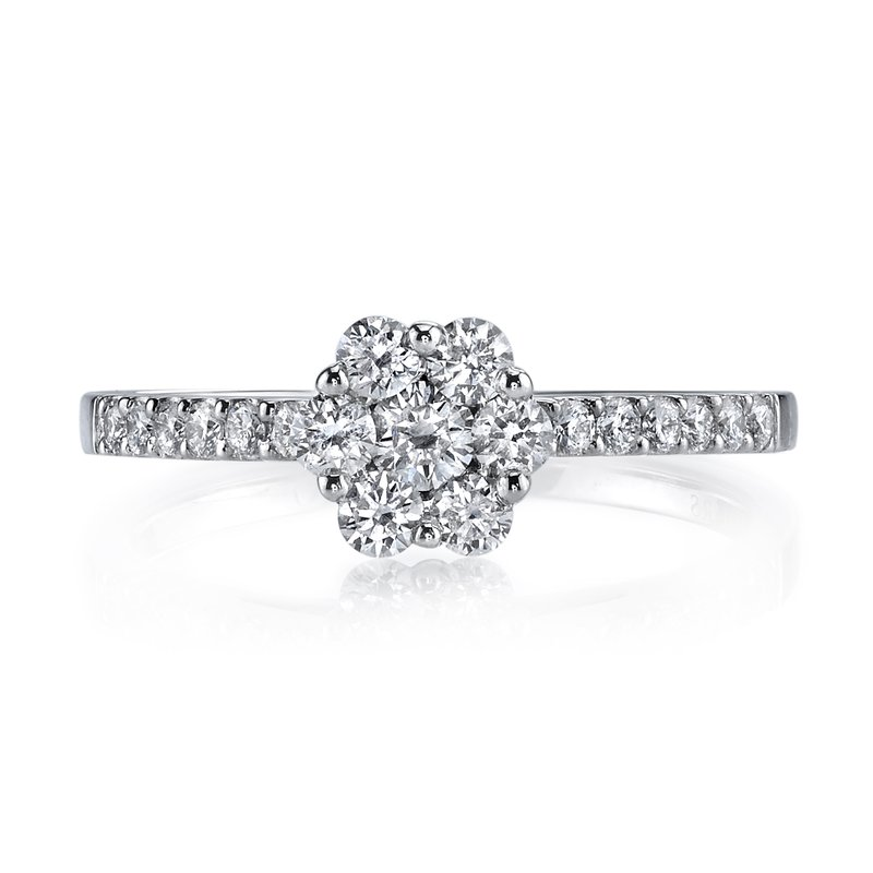 MARS Jewelry MARS 26159 Diamond Engagement Ring, 0.56 Ctw.