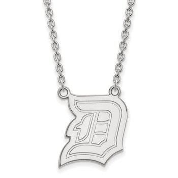 Sterling Silver Duquesne University NCAA Necklace