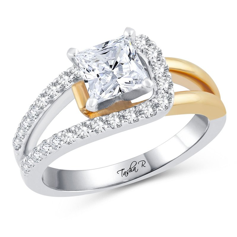 Elite Collection 14K 0.40Ct Diam Semi Mount