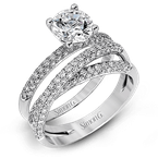 Simon G MR1577-D WEDDING SET