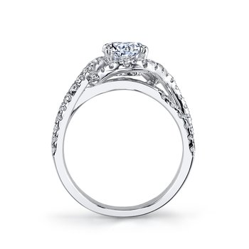 MARS 25603 Diamond Engagement Ring, 0.71 Ctw.