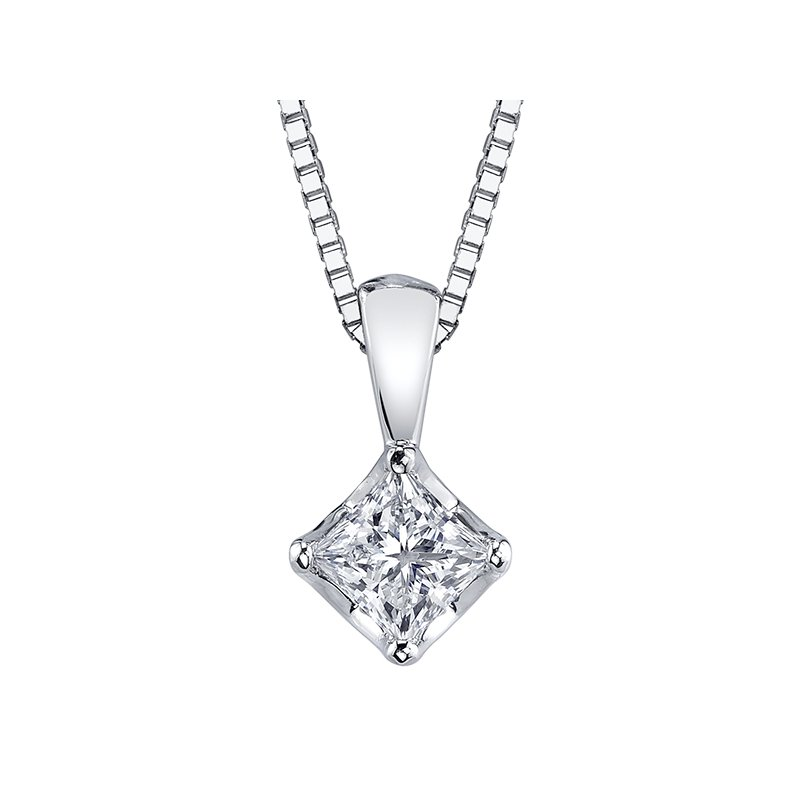 Maple Leaf Diamonds™ Tides of Love™ Solitaire Pendant