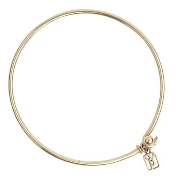 Wire Bangle - Brass