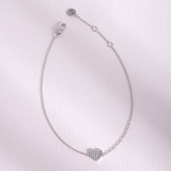 All Heart Sterling Silver Bracelet