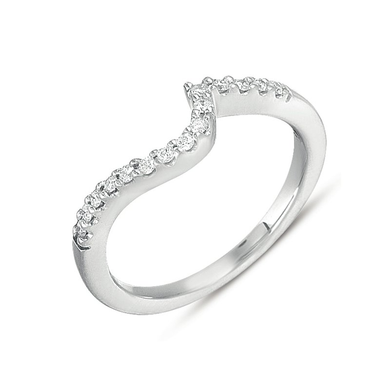 S. Kashi & Sons Bridal White Gold Matching Band for en7280