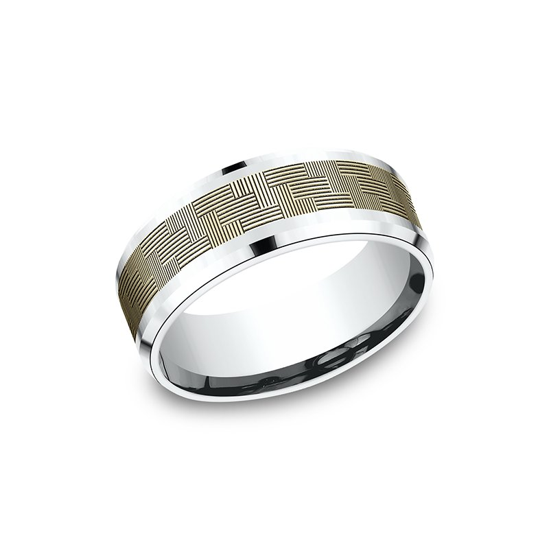 Ammara Stone Ammara Stone Comfort-fit Design Wedding Band