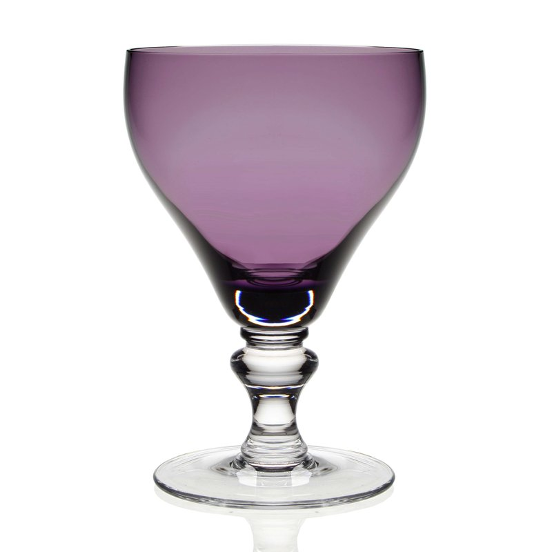 William Yeoward Amethyst Water Goblet
