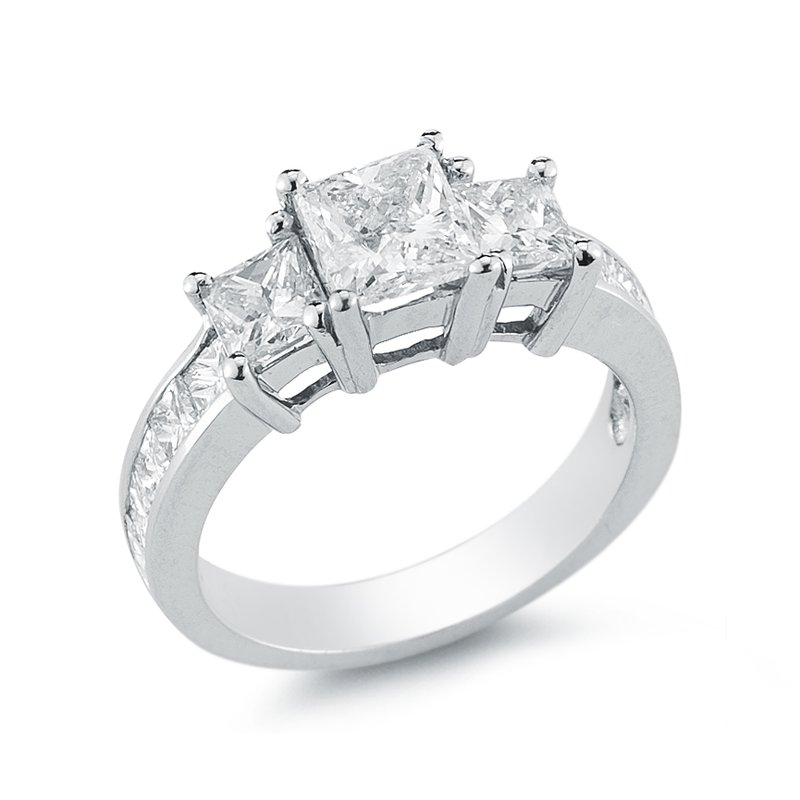 Paramount Gems 1cttw Three Stone Diamond Ring