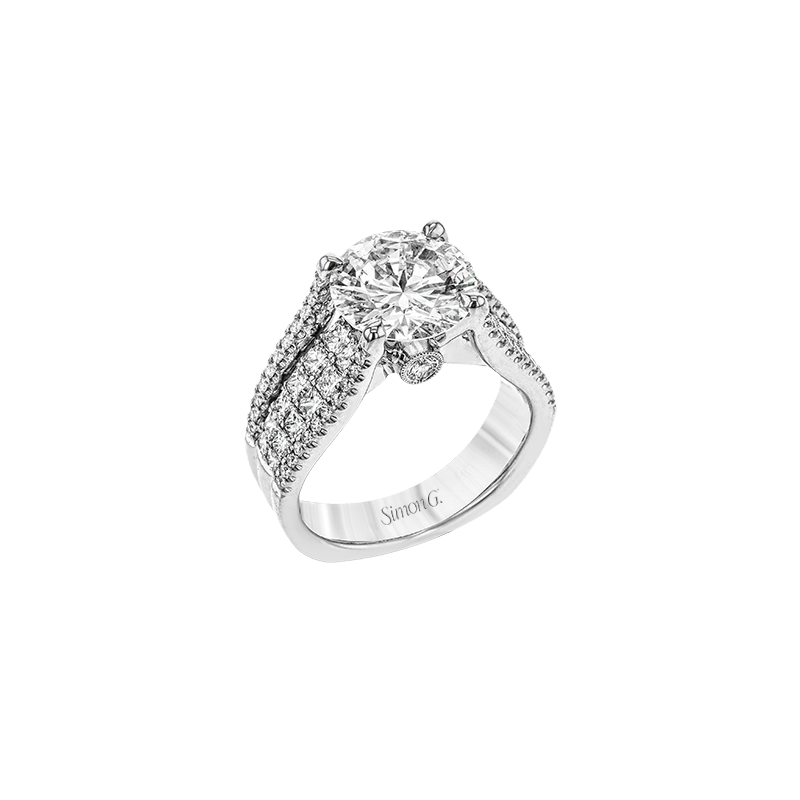 Simon G MR2691 ENGAGEMENT RING