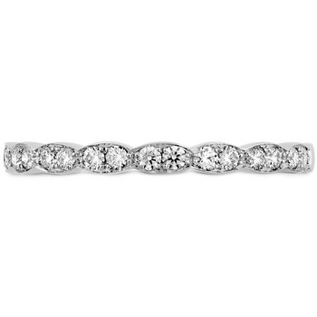 0.2 ctw. Lorelei Floral Diamond Band
