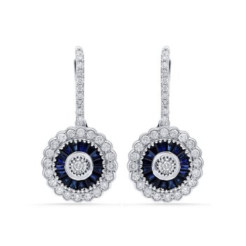 14K 1.00Ct Diamond Earring