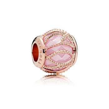 Intertwining Radiance, Pandora Rose™ Pink Cz