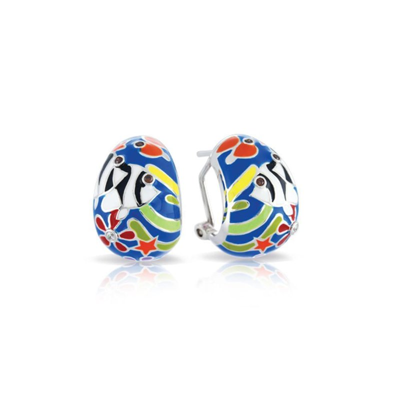 Belle Etoile Angelfish Earrings