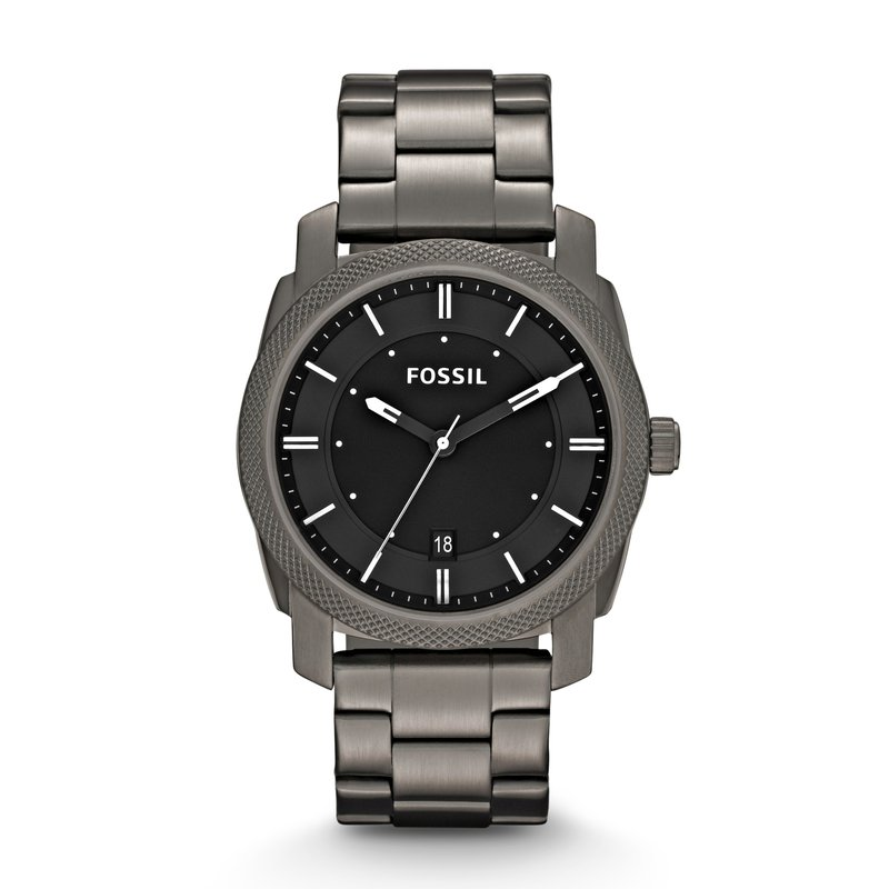 Fossil Machine Smoke Stainless Steel Watch
