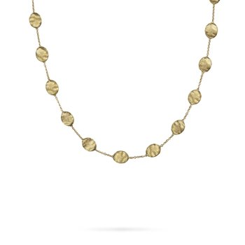Siviglia Gold Large Bead Necklace